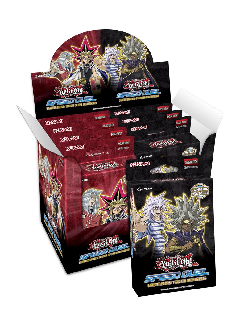Speed Duel Starter Decks Match of the Millenium /& Twisted Nightmare Yu-Gi-Oh!